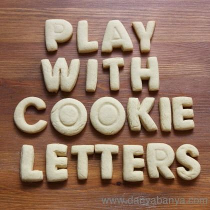 cookie letters