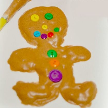 gingerbread puffy paint 821