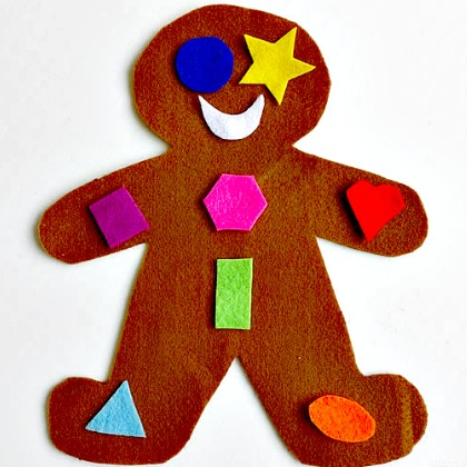 gingerbread shape match