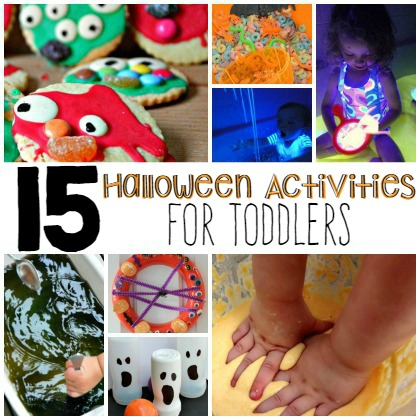 15 Halloween Activities For Toddlers