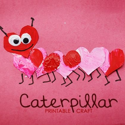 heart caterpillar
