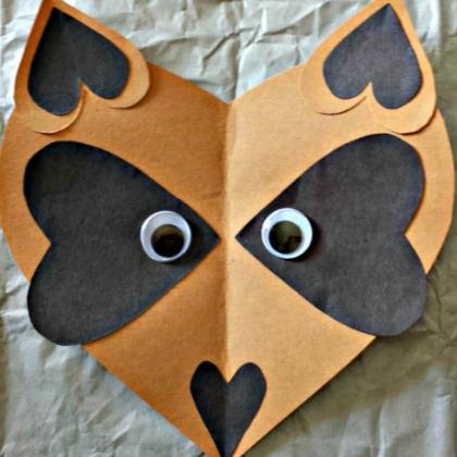heart raccoon