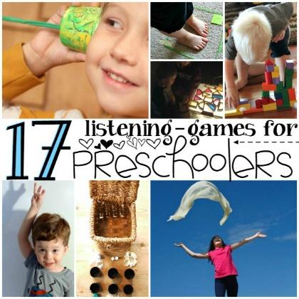 Listening games for preschoolers