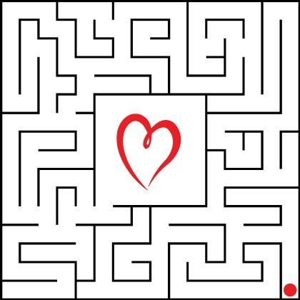 magnetic Valentine Maze