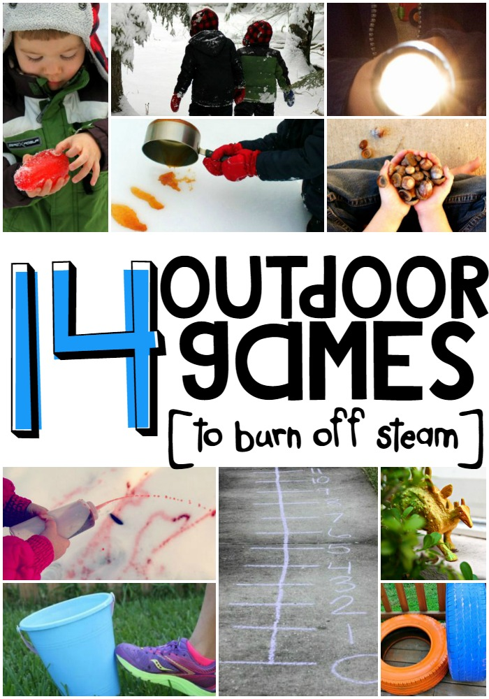 14 Outdoor Games to Burn Off Some Steam