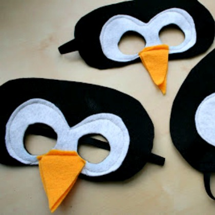 penguin masks