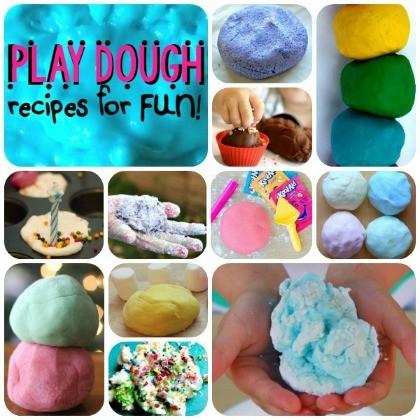 Play Dough Recipes For Fun
