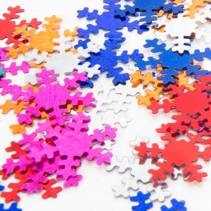 puzzle snowflakes