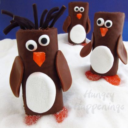 snack cake penguins