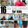 16 Snow Themed Science Activities