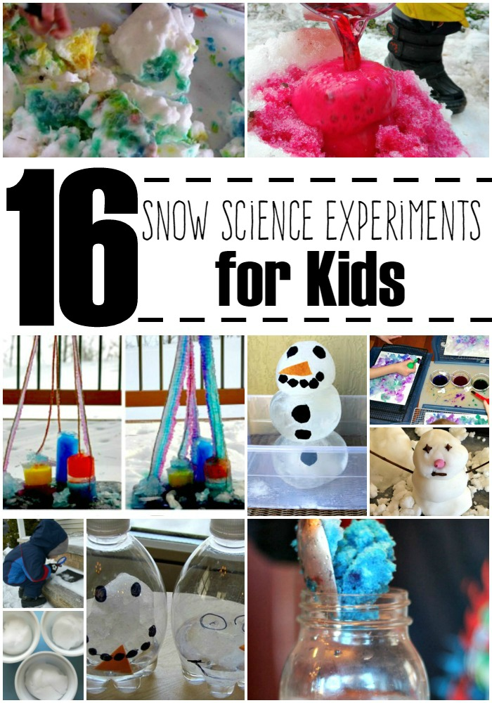 Snow Themed Science