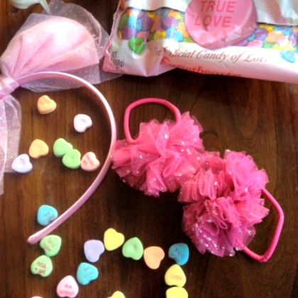 sweethearts hair bow