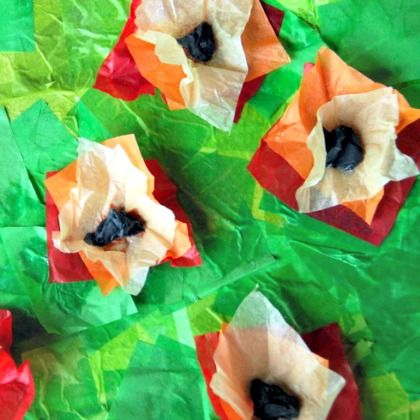 tissue-paper-Monet-poppy-collage-044