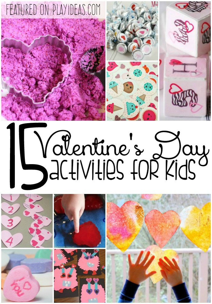 15 Valentine's Day Activities for Kids