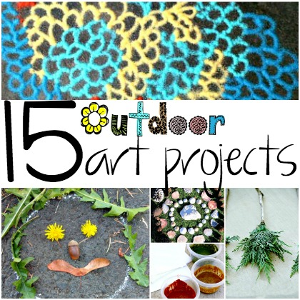 Cheap Art Projects For The Outdoors