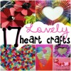 17 lovely heart craft ideas