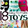 18 easy to make toys