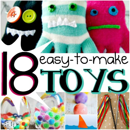 18 easy to make toys