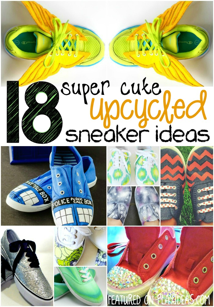 18 super cute upcycled sneaker ideas