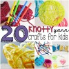 20 knotty yarn crafts for kids