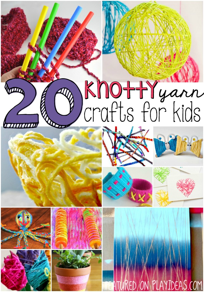 20 yarn crafts for kids