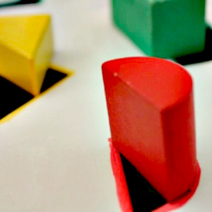 DIY SHAPE SORTER
