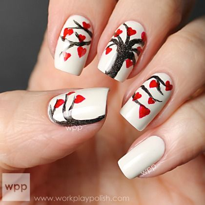 HEART TREE NAILS