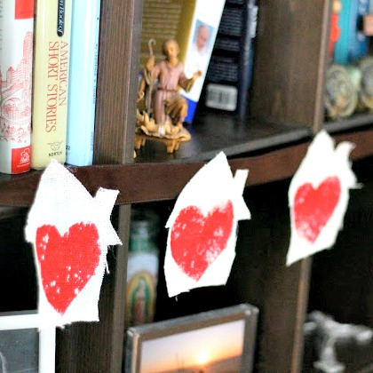 Heart Stamped Bunting-PI