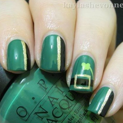 LEPRECHAUN NAILS 2