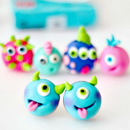 16 Irresistible Polymer Clay Crafts Play Ideas