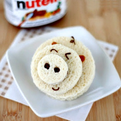 NUTELLA SANDWICH PIG