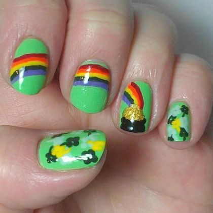 POT OF GOLD NAILS