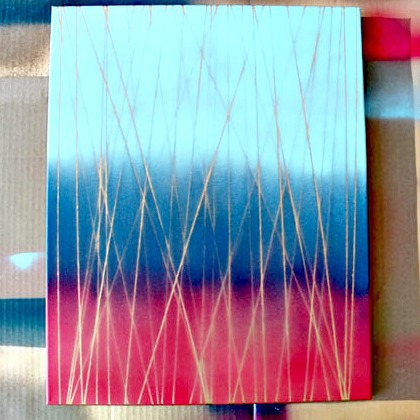 YARN STRING PAINTING