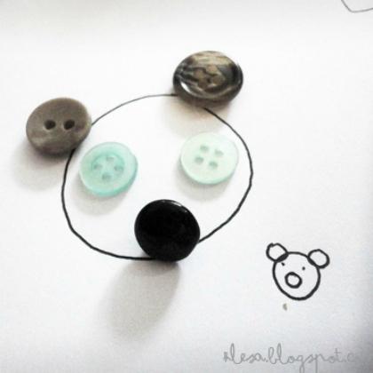 button bear