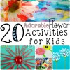 20 Flower Activities For Kids