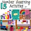 15 Number Learning Activities For Preschoolers