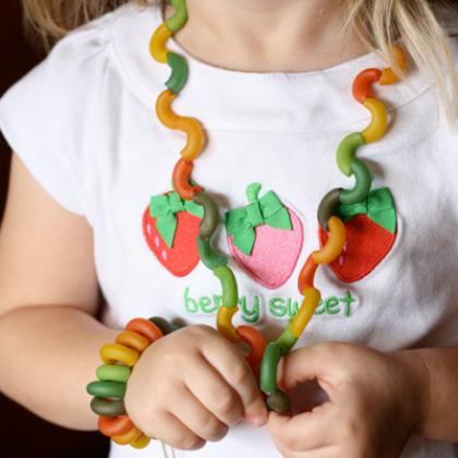 pasta jewelry