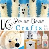 16 Polar Bear Crafts For Kids