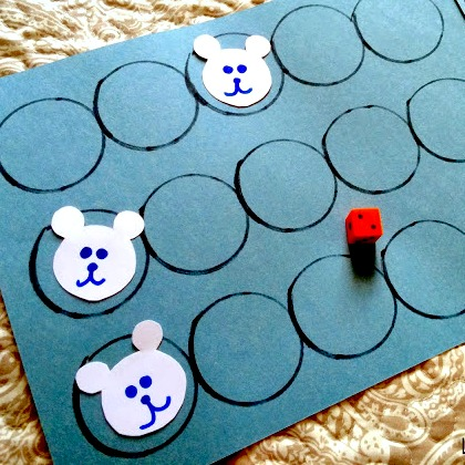 polar bear race game