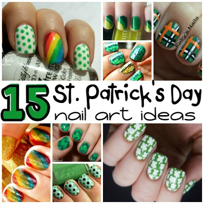 15 St. Patrick's Day Nail Art Ideas