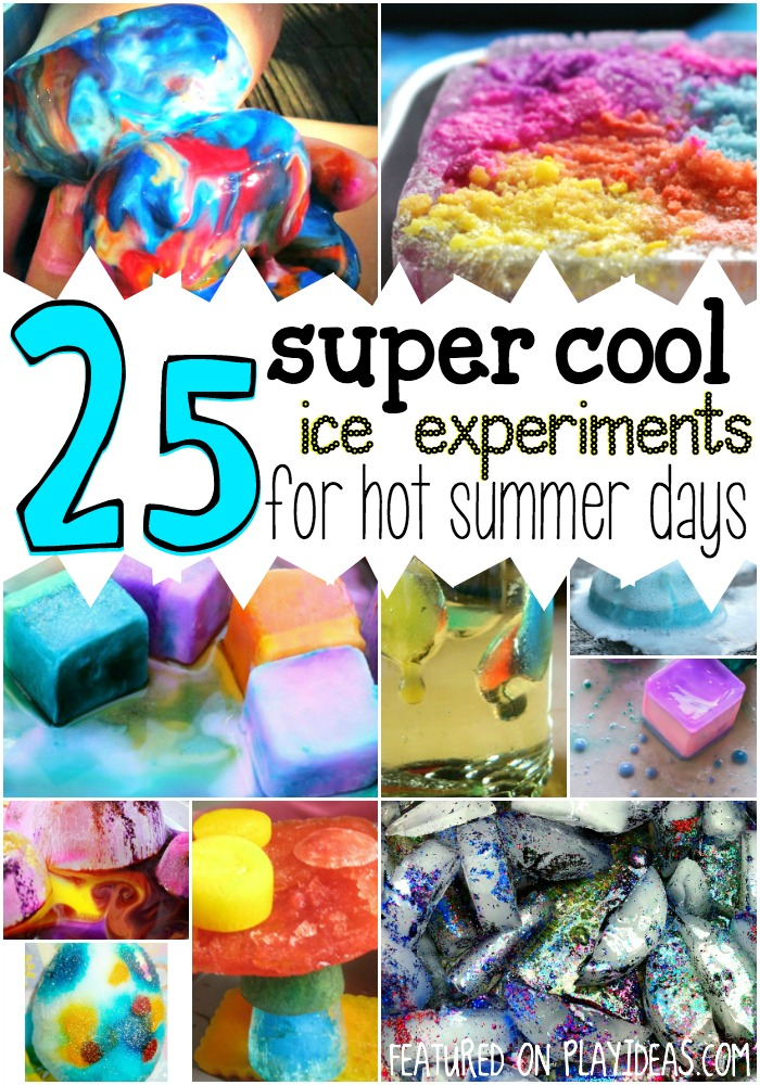 super cool ice experiments for hot summer days