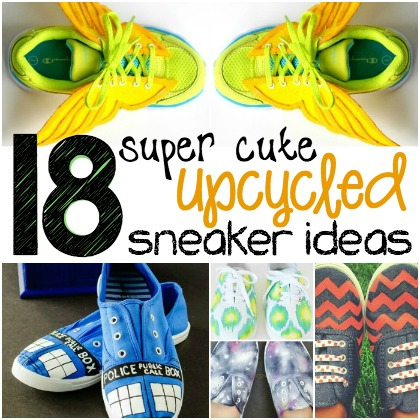 upcycled sneakers