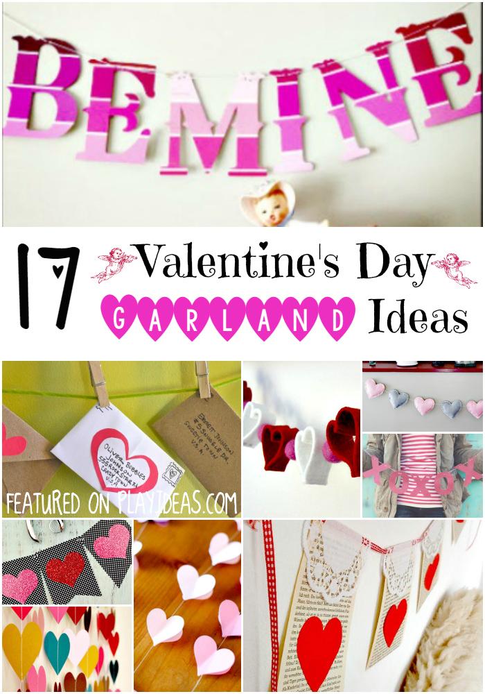 valentines day garland ideas