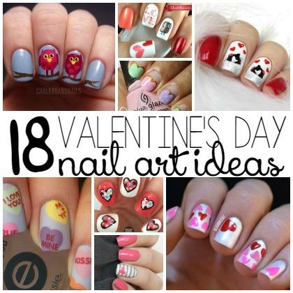 18 Valentine's Day Nail Art Ideas