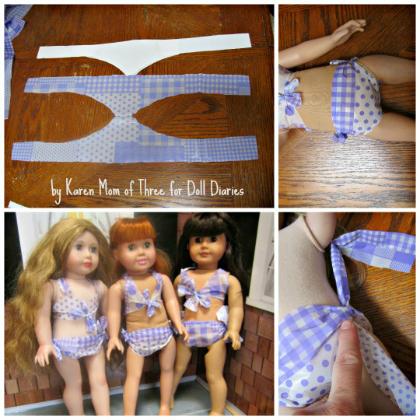 American Girl Bikinis