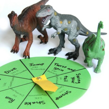 Dinosaur Movement Game