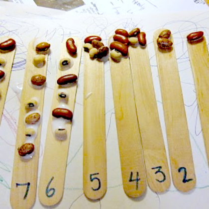 bean counting math