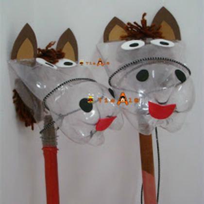 bottle horses