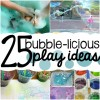 25 Bubble Activities for Preschoolers