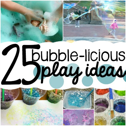 bubble play ideas